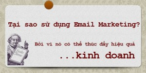 sử dụng Email Marketing hiệu quả nhất trong kinh doanh Online