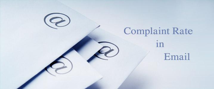 Định nghĩa Email: Tỷ lệ khiếu nại