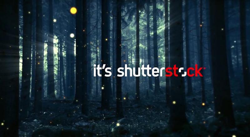 """Shutterstock tung clip quảng bá được thực hiện bằng """"vốn sẵn có"""""""